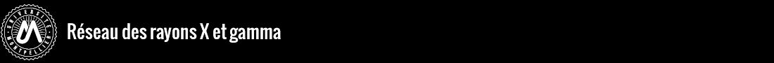 Réseau des rayons X et gamma Logo